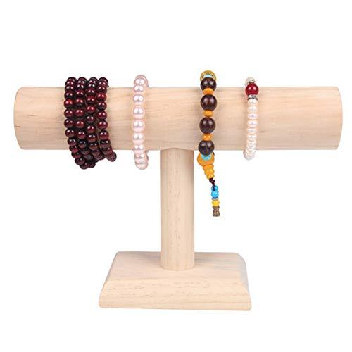 LAMF Schmuckständer aus Holz für Schmuck, Armband, Uhren, Ausstellung, für Zuhause, Geschäft, Messen und Vitrinen, perfekt für Armbänder, Armbänder, Uhren