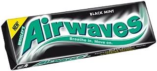 Airwaves Black Mint Gum. Case of 30.