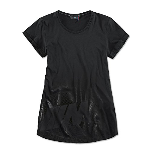 BMW Original M Damen T-Shirt Schwarz - Kollektion 2016/2018 - Größe XL