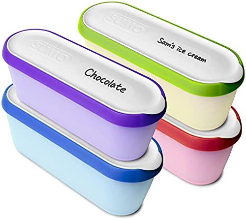 SUMO Homemade Ice Cream Containers: Dishwasher Safe Tub. 1.5 Quart