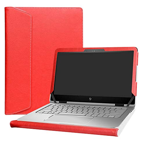 Alapmk Protective Case Cover for 13.3' HP Envy X360 13 13-yXXX & HP Spectre 13 x360 13-4XXX Series Laptop(Warning:Not fit Envy X360 13 13-agXXX/Spectre 13 x360 13-aeXXX 13-acXXX 13-wXXX),Red