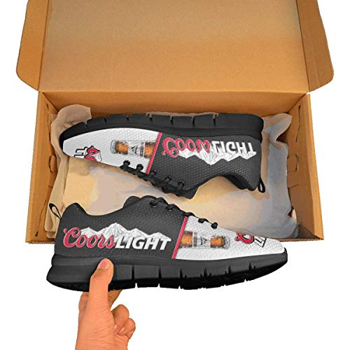 TeeKP Coors Light Breathable Sneaker Running Shoes Idea Gift for Who Love Coors Light