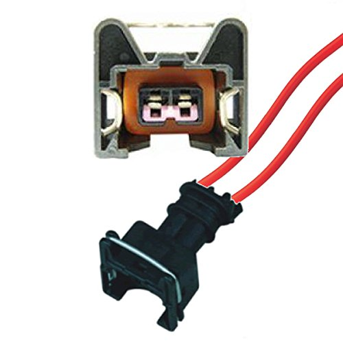 Conector de repuesto para coche – Boquilla de inyección de gasolina – Bosch EV1 (FEMALE) con cable 1287013003, 1 287 013 003