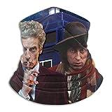 JINZUO Doctor Who - Polaina para el cuello de microfibra, multifuncional, a prueba de polvo, pasamontañas, bandanas, calentador de cuello, bufanda para deportes al aire libre en clima frío
