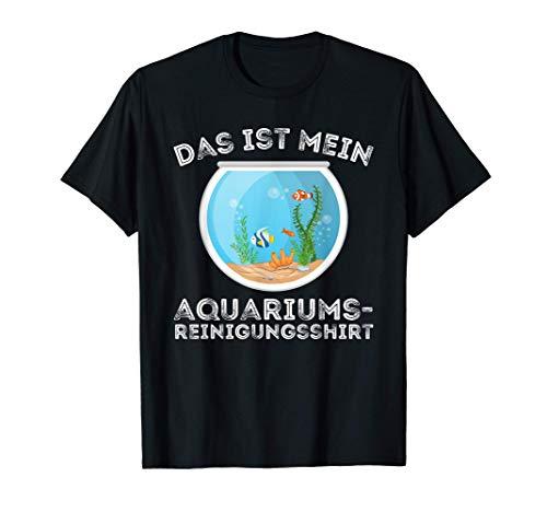 Mein Aquarium Reinigungsshirt Aquaristik Aquarianer Fische T-Shirt