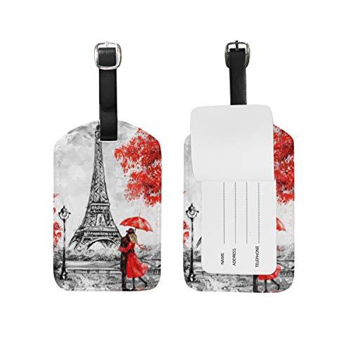 Chic Houses Eiffel London - Etiquetas de viaje para equipaje (2031578)