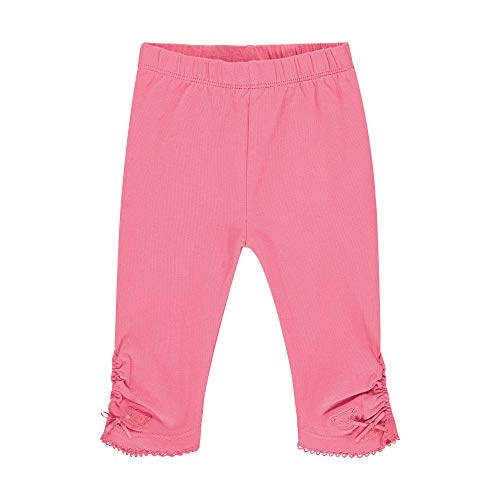Steiff Baby-Mädchen mit Schleifchen Leggings, Rosa (Pink Dove 2203), 62 (Herstellergröße: 062)