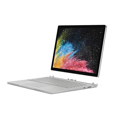 Microsoft Surface Book 2 15-Inch PixelSense Display Notebook (Silver) - Intel i7, 16 GB RAM, 256 GB SSD, NVIDIA GeForce GTX 1060 Graphics, Windows 10 Pro