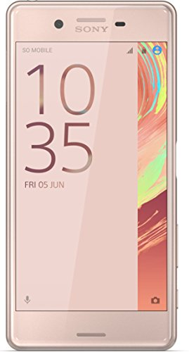 Sony Xperia X Performance (12,7 cm (5 Zoll) FHD IPS-Display, Interner Speicher 32 GB, Android) rose-gold