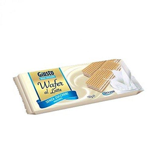 Giuliani 7336 Giusto Senza Zucchero Wafer al Latte