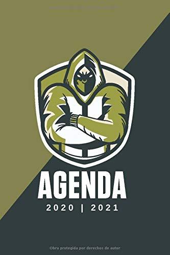 AGENDA ESCOLAR 2020 - 2021: Agenda semana vista (Septiembre 2020 / Agosto 2021)   Planificador semanal (Español)   Calendario   Colegio, secundaria, estudiante   Tapa blanda Gamer Verde