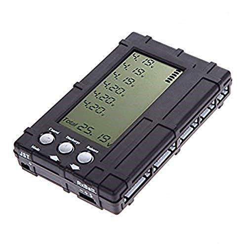 ZHITING 3 en 1 RC 2s-6s LCD Li-Po Balanceador de batería Medidor de Voltaje Probador + descargador