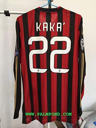FM Kaká Retro Long Sleeve Jersey 2013-2014 Full Patch (S)