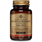 Solgar, Sublingual Methylcobalamin, 5000 mcg, 60 Nuggets