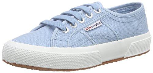 Superga Unisex-Erwachsene Classic Sneaker Low-Top 2750 Cotu Classic, Blau (02Y), 35 EU