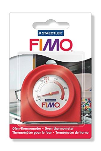 Staedtler 8700 22 FIMO Thermomètre pour Le Four, pour Indiquer La Bonne Température, sous Étui Blister