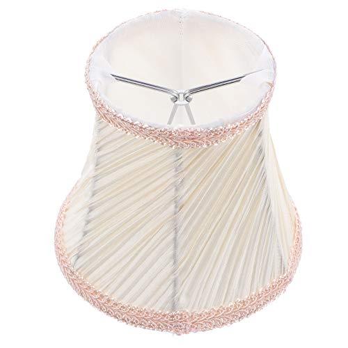 Mobestech Máscara de Lâmpada de Pano Máscara de Lâmpada de Substituição Da Lâmpada Sombra Luz Do Candelabro de Cobre Suprimentos Para Chão Mesa de Luz de Teto Da Lâmpada Do Teto Para Casa