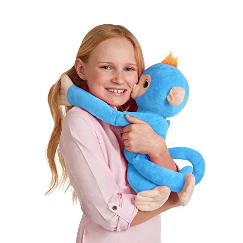 Fingerlings New Plush Hugs Blue Boris