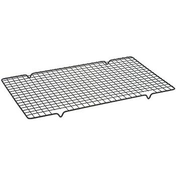Dexam Rectangular Non-Stick Cooling Rack, Black, 40cm x 25cm
