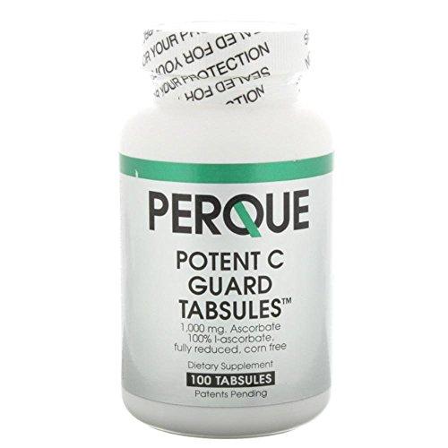 Perque Potent C Guard 1000 mg, 100 Count