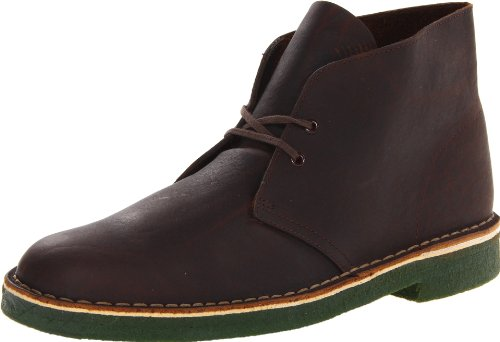 Hot Sale Clarks Men's Desert Boot,Brown Oily Leather,9.5 M US