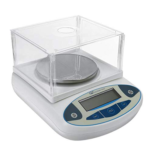 SISHUINIANHUA Joyería de la Escala electrónica Digital LCD Lab Laboratorio balanza analítica de precisión Escala Mini portátil 2000x0.01g Báscula