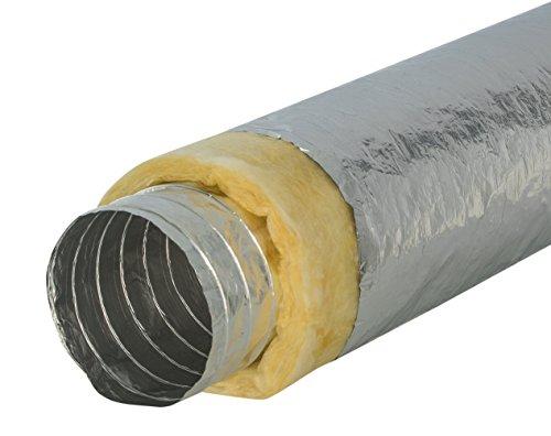 Intelmann Alu-Flexschlauch Ø 100 mm thermisch isoliert, Länge 10m (80 100 125 150 160 200 250)