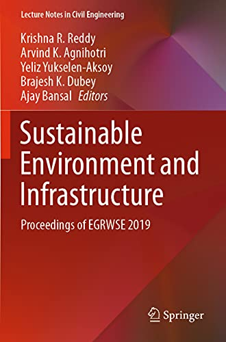 Sustainable Environment and Infrastructure: Proceedings of EGRWSE 2019 (Lecture Notes in Civil Engineering, 90)