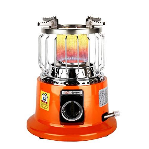 Calefactor de gas de househome, ajustable, para camping y pesca en hielo