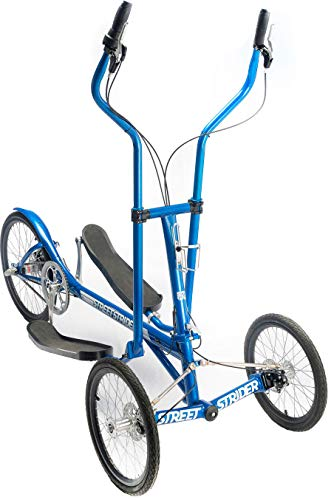 StreetStrider 3i Outdoor + Indoor Elliptical Cross Trainer, Blue