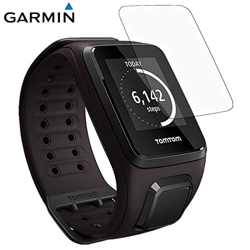 3 Pcs Smart Bracelet Watch Protection Guard Film for Tomtom Runner 3 /Runner 2 Cardio HD Scratch-Resistant electrostatic Glass