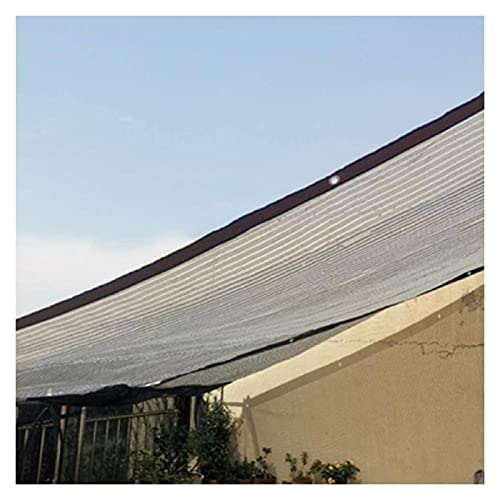LSSB Solar Sombra Paño Espesar Cifrado Material Reflectante De Papel De Aluminio, Anti-UV Malla De Sombra para Verano Exterior Invernadero Cochera Avicultura Pantalla De Jardín, Personalizable