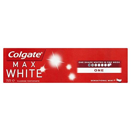 Colgate Max White One Toothpaste 75ml - Zahnpasta für strahlend weisse Zähne