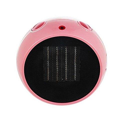 KDLD Mini réchauffeur ® Mini ventilateur chaud portable Réglable thermostat PTC céramique Mute Économie d'énergie Chauffage 900-1500W