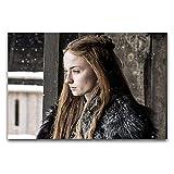 WPQL Sophie Turner Schauspielerin Sansa Stark, modernes