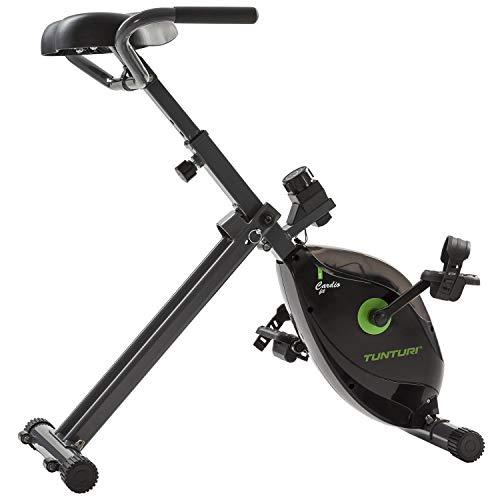 Tunturi Cardio Fit D20 Schreibtisch-Fahrrad, zusammenklappbarer Heimtrainer, Tischfahrrad für Büro und Zuhause