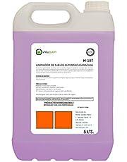 Fregasuelos 5 Litros EXTRA PERFUMADO CÍTRICO, Contiene TENSIOACTIVOS que disuelven la grasa. Limpia-perfuma-abrillanta todas las superficies.
