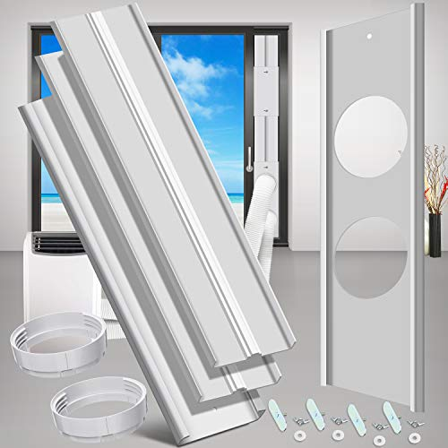 gulrear Sliding Door Air Conditioner Kit with Dual Hose Adjustable Length from 20