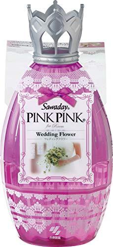 サワデーピンクピンク 消臭芳香剤 部屋用 本体 ウェディングフラワー 250ml