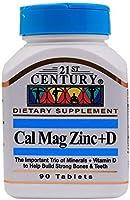 21st Century Cal Mag Zinc +D - 90 Tablets