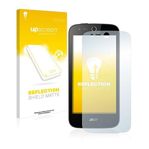 upscreen Entspiegelungs-Schutzfolie kompatibel mit Acer Liquid M320 – Anti-Reflex Bildschirmschutz-Folie Matt