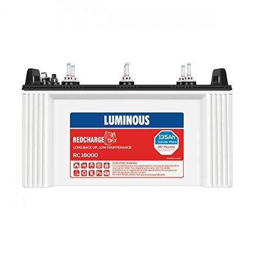 Luminous RC 16000 Tubular 135 Ah Battery