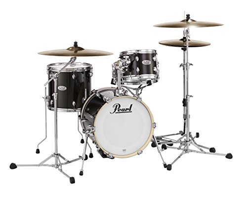 Pearl MDT Midtown 4pc Drum Kit Shell Pack - Black Gold Sparkle