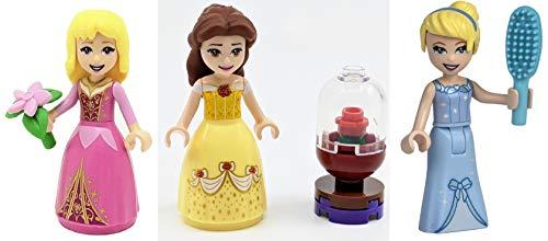LEGO Disney Princess: Cenicienta Bella y Aurora.