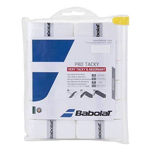Babolat Pro Tacky Overgrip X 12 Accesorio Raqueta de Tenis,...