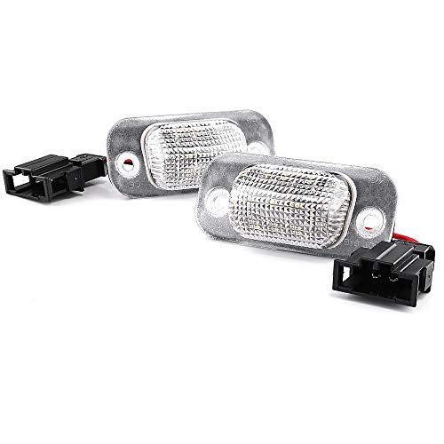 LIGHTDELUX Repuesto para iluminación de matrícula LED, sin mensajes de error con certificado E V-030631