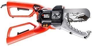 Black & Decker GK1000-QS - Sierra podadora, 550W, (Negro, Naranja)