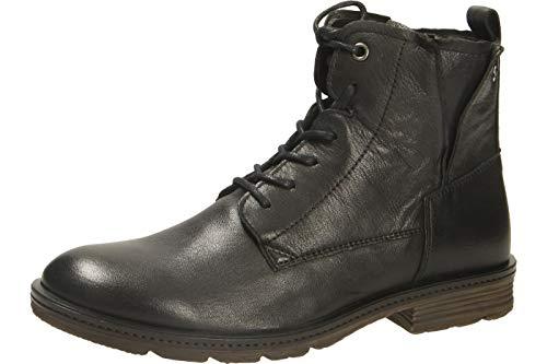 camel active Aged 70, Damen Biker Boots, Schwarz (Black 1), 41 EU (7.5 UK)