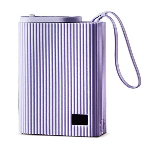 N / B Hervidor de Viaje, Taza de Agua de calefacción de Acero Inoxidable, Temperatura de Siete etapas Opcional, con Pantalla de Temperatura, Adecuado para Oficina, Dormitorio, Viajes