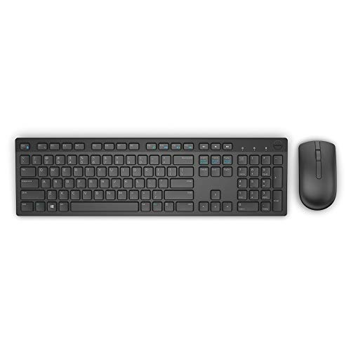 Dell Wireless Keyboard and Mouse Combo - KM636 (Black)